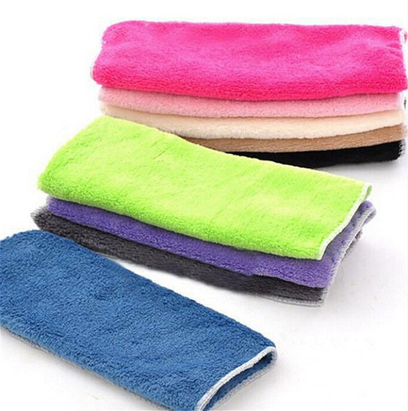 Fiber Anti-grease Dish Washing Towel
