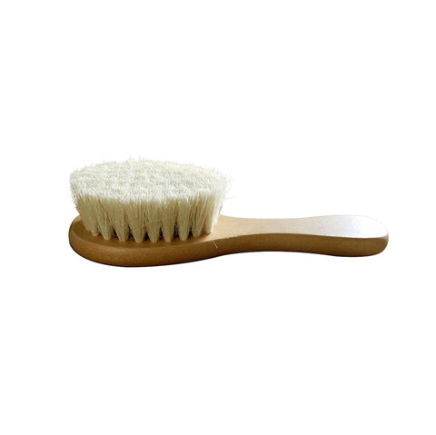 New Baby Care Pure Natural Wool Baby Wooden Brush