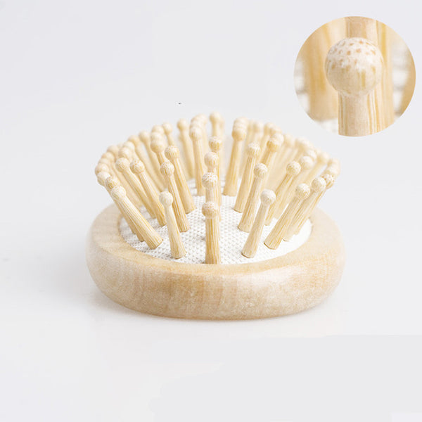 Wooden Bamboo Hair Vent Brush