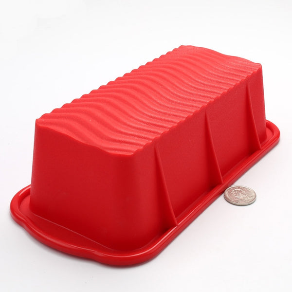 Rectangular Shape Silicone Cake Mold