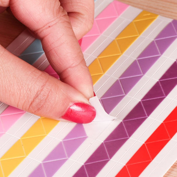 20/10pcs hand-made Material Album Tool Accessories Retro PVC Photo Corner a Variety of Color