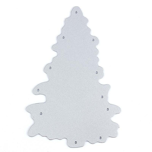 Christmas Tree Frame Metal Cutting Dies For Embossing