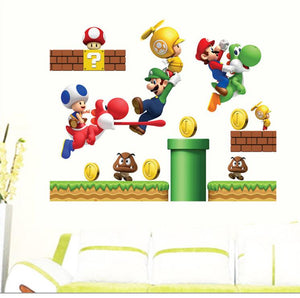 Mario Wall Stickers for Kids