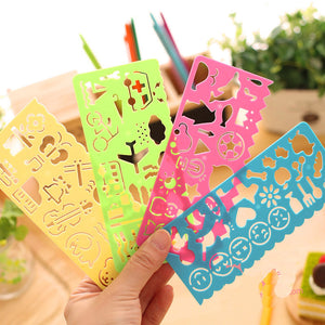 Children Stencil Ruler Drawing Tool