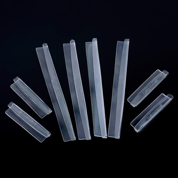8Pcs/set Clear Car Door Edge Guards Trim Molding Scratch Protector Set