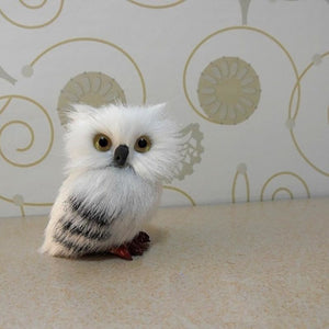 Harry Potter 7cm Cute Snowy Owl Hedwig Letter Delivery Doll Cute Toys Birthday