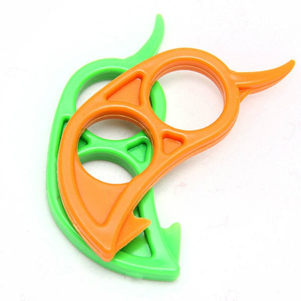 1Pcs Plastic Creative Orange Peelers Zesters Lemon Slicer and Opener