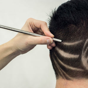 Hair Carving Pen Magic Oil Head Notch Man Hair Refined