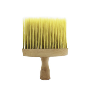 Wooden Handle Hair Cutting Hairdressing Styling Salon Cleaning Brush