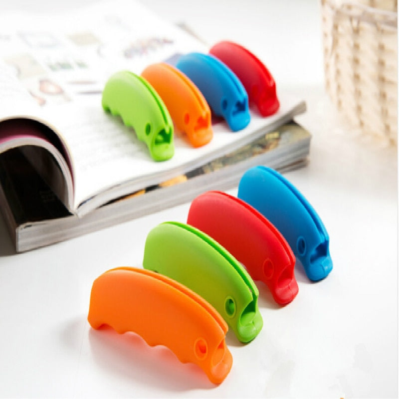 Shopping Bag Holder Clip Devices