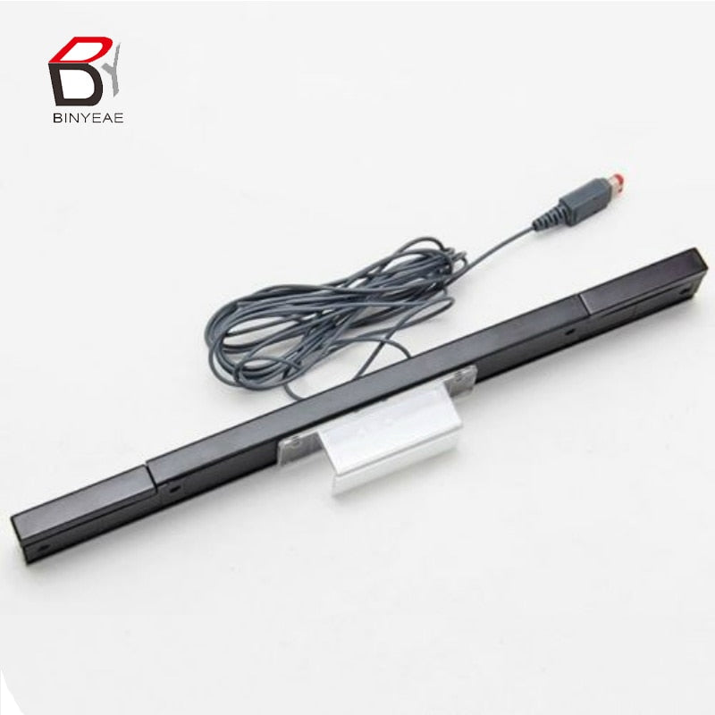 New Wired Infrared IR Signal Ray Sensor Bar/Receiver for Nitendo Wii Remote