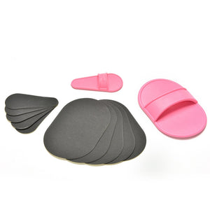 Hair Removal Exfoliating Pads
