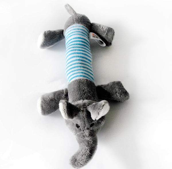 Squeaky Plush Sound Pig Elephant Toy for Pet