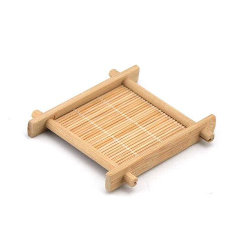 Mini Bamboo Tea Cup Mat
