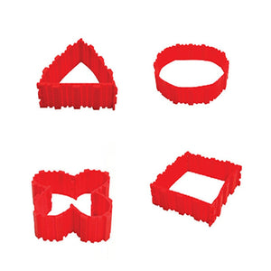 Silicone Cake DIY Baking 4Pcs Pastry Tools Silicone Cake DIY Baking Square Rectangular Round Shape Mold