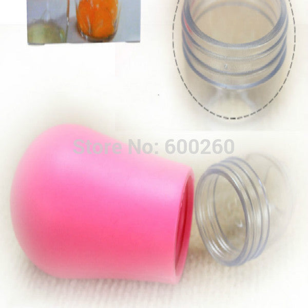 Creative Kitchenware Silicone Round Egg Yolk Out Separators