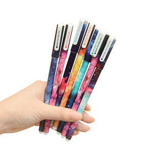 0.38mm Ballpoint Pens Starry Star Night Gel Ink
