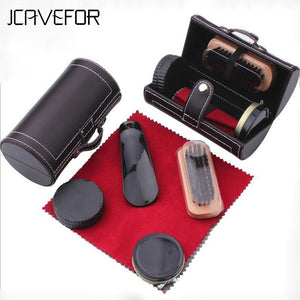 6 Sets Of Leather Special Care Shoe Polish Shoes Set Maintenance Tools