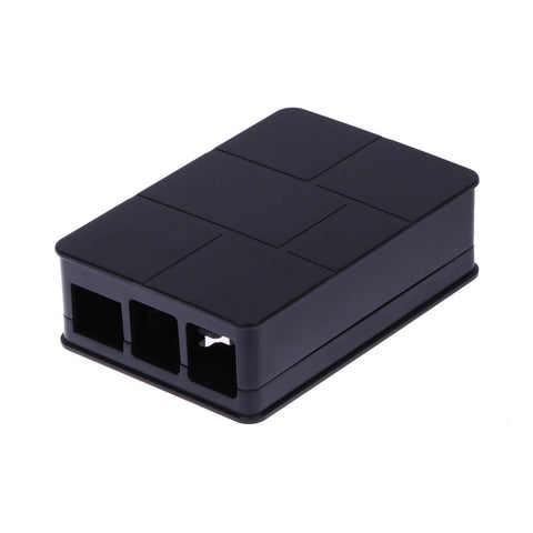 Raspberry Pi 3 Model B+ Plus Black ABS Case Plastic Cover