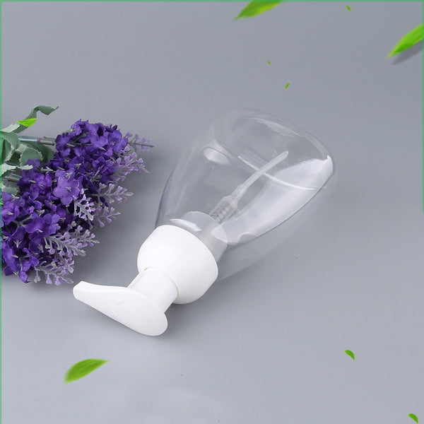 300ML Clear Plastic Foaming Bottle Liquid Soap Pump Bottles