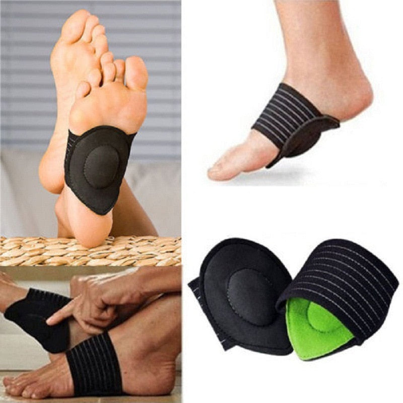 Beauty & Health 2019 Fashion 1 Pair Shoe Insole Comfortable Instep Pad Insoles Foot Health Flat Foot Arch Support Insoles Viscosity Shoe Insoles Customers First Foot Care Tool