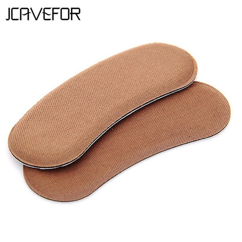 Hot sales 1Pair Sticky Fabric Shoe Back Heel Inserts Insoles Pads Cushion Liner Grips
