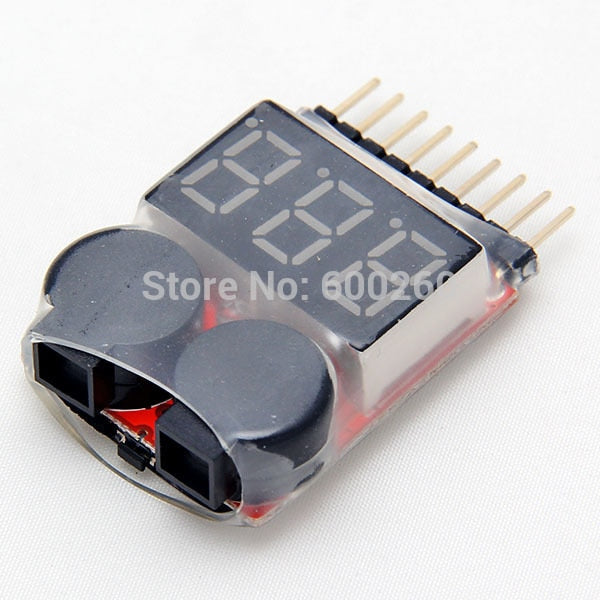 Lipo Battery Low Voltage Tester