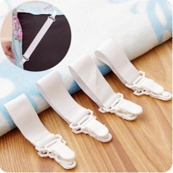 Bed Sheet Strap Holder Blanket Pad