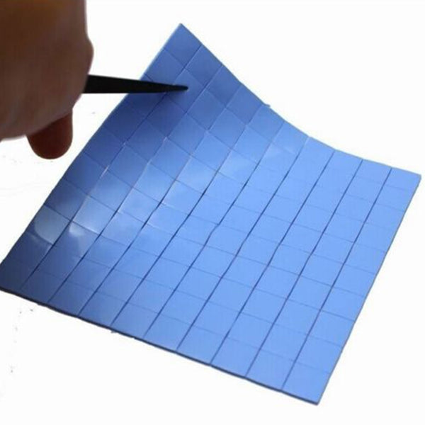 1 Piece 100x100x1mm Ultra Soft Thermal Conductive Heat Gap Filler Pad