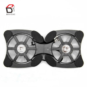 2 USB Mini Octopus Laptop Notebook Fan Cooler Cooling Pad