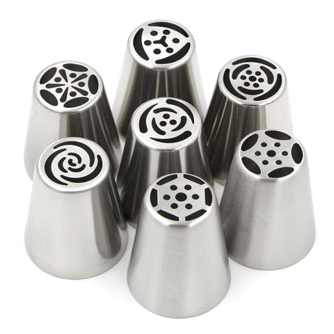 Stainless Steel Russian Tulip Icing Piping Nozzles