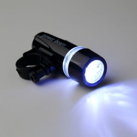 Flash Bike Head Light Power Beam Torch