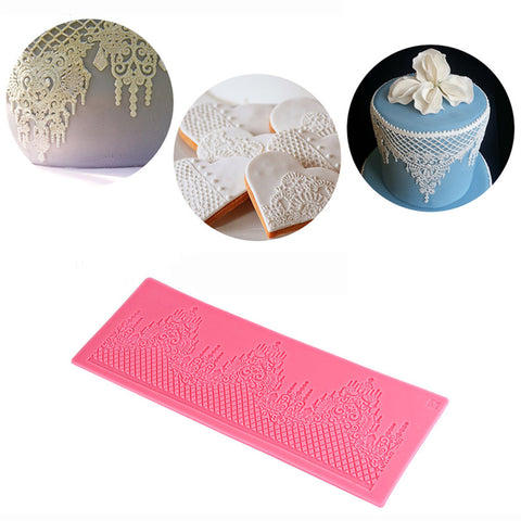 Castle Silicone Cake Lace Mat Silicone Lace Mold