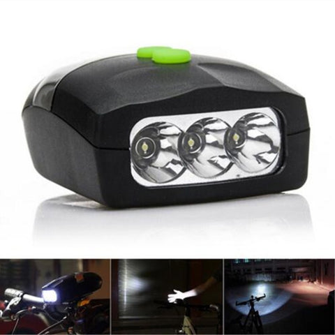 Bicycle Light Universal White Front Head Light Cycling Lamp