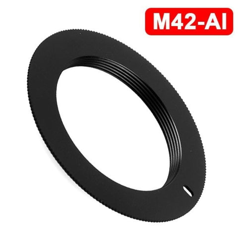 M42 Lens To AI Mount Adapter Ring M42-AI Adaptor