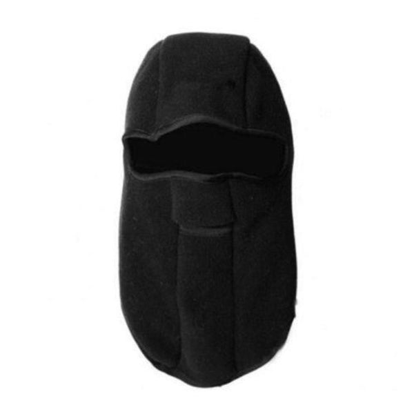 Bike Motorcycle Thermal Fleece Balaclava Neck Winter Ski Full Face Mask Cap Cover Gear