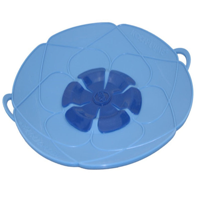 Silicone lid Spill Stopper Cover For Pot Pan Kitchen Accessories Cooking Tools Flower Cookware Kitchen Gadgets