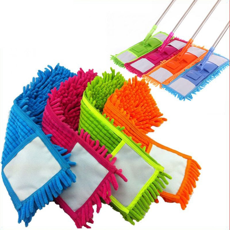 Mops Floor 20-30 Seconds <2kg Chenille 1 <40% Hot Mop Head Home Dust Remover Refill Microfiber Top Household Replacement