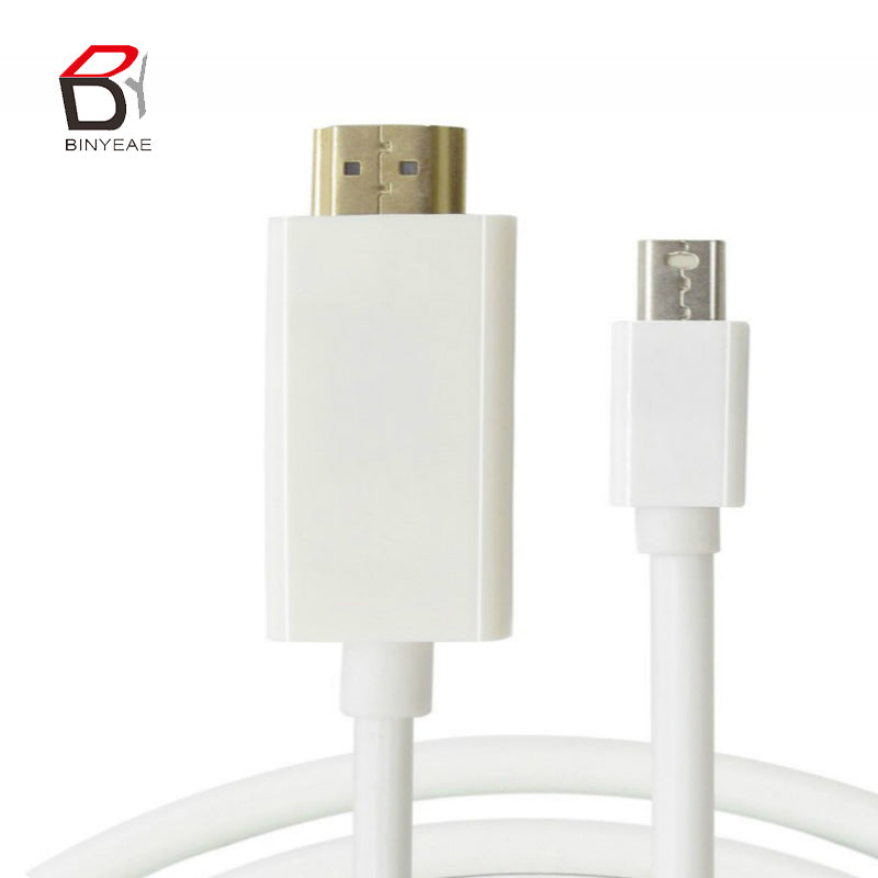 1.8M 6FT Display Port To HDMI Male Adapter Cable For MacBook