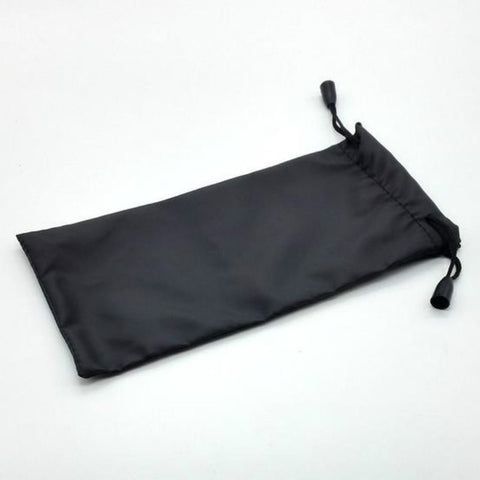 5Pcs Black Durable Waterproof Dustproof Plastic Sunglasses Case