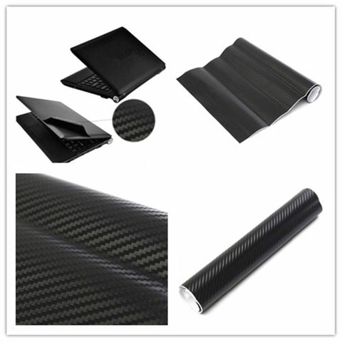 3D Carbon Fibre Skin Decal Wrap Sticker Case Cover For PC Laptop
