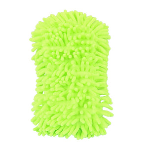 2 In 1 Car Washing Gloves Car Cleaning Sponge Coral Shaped
