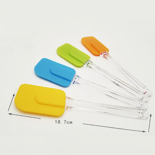 1pc Silicone Spatula Baking Scraper Cream Kitchen Utensil Pastry Tools