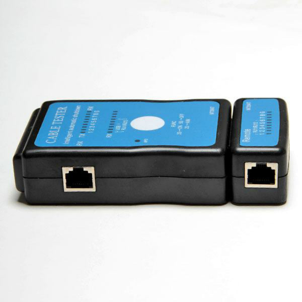 Multi-Modular LAN Cable Tester Networking Tool