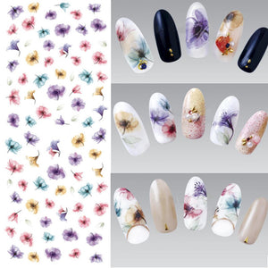 Nail Water Transfer Sticker Decal Manicure Nail Art