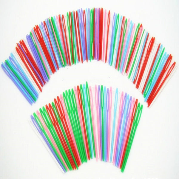 20PCS Plastic Knitting Needles Seam Sewing Tool