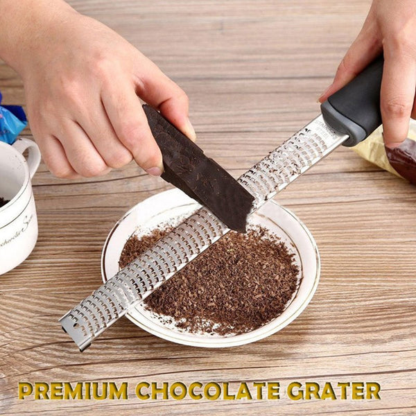 Multifunction Stainless Steel Lemon Zester Fruit Peeler Grater Cheese Zester Microplane Grater Fruit Vegetable Tools & Kitchen