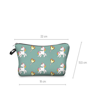 Fashion Brand Unicorn Cosmetic Bag