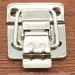 1Pcs Silver Fastener Aluminum Box Accessories Suitcase Boxes Trunk Lock Hardware Accessories Practical Locks 30*36MM