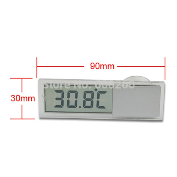 2015 Car Windshield / Rear View Mirror LCD Digital Room Temperature Meter Thermometer